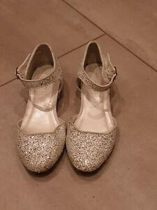 Girls Party Shoes Monsoon Size 3