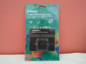 COMMTEL COMPACT DISC/PHONO SELECTOR