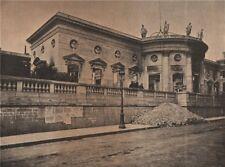 PARIS COMMUNE 1871. L'hotel de la Légion d'Honneur c1873 old antique print