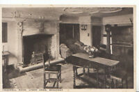 Worcestershire Postcard - Cromwell Room - Lygon Arms - Broadway - Ref 506A