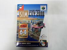 N64 -- SIM CITY 2000 -- New! Nintendo 64, JAPAN. Simulation Game. 19505