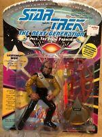 Star Trek The Next Generation Lieutenant Worf Playmates Action Figure 1992 NIP