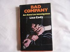 Liza Cody BAD COMPANY Hardback + D/W 1982 Good Condition Book Club Associates