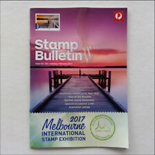 Australia Post Stamp Bulletin Issue No. 344 Jan - Feb 2017 Melb Stamp Exhibition