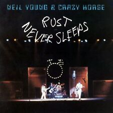 Neil Young herrumbre nunca duerme NEW SEALED VINYL LP Reedición En Stock