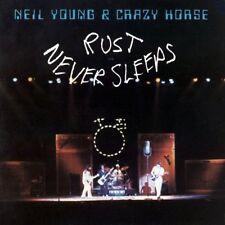Neil YOUNG Ruggine non dorme mai NUOVO SIGILLATO Vinile LP riemettere in magazzino