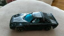 Vintage Unknown make model manufacturer diecast toy car #673 sports car Black
