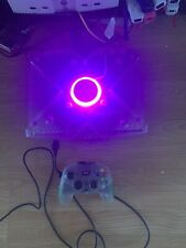Crystal Xbox, 320GB Hard Drive And Games, Pink Lit Up Jewel And Port LED's
