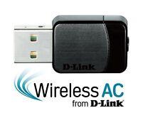 D-Link DWA-171 Wireless AC600 Dual-Band Nano 802.11ac USB Wi-Fi Adapter