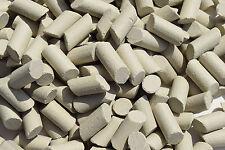 """New Aluminum Oxide Tumbling Media 3 Lbs  Medium Cutting Lapidary 1-5/32""""- 1/2"""""""