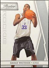 2010-11 Prestige Hassan Whiteside Rookie Sacramento Kings #203