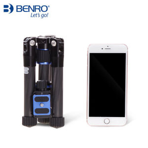 Benro SC08 With B00G Ball Head Mini Portable 4 Section Tripods For Camera
