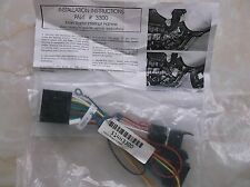 Crime Gaurd H 3300 Main Starter Interrupt Harness