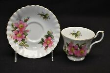 Royal Albert Prairie Rose Cup & Saucer