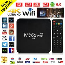 Mxq Pro 4K Ultra Hd 5G Wifi Android 9.0 Quad Core Smart Tv Box Media Player
