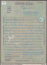K618) prigionieri di guerra posta, BRF US Camp Francoforte (?) > Bestwig 10/46