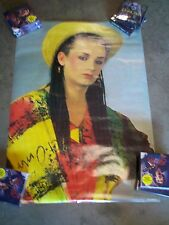 POSTER Boy George 1982 Anabas Posters Printed in England 24 X 36 CULTURE CLUB