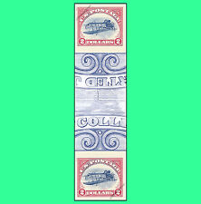 4806a Inverted Jenny $2 stamp Imperf Vertical Pair w Horiz. Gutter No Die Cut