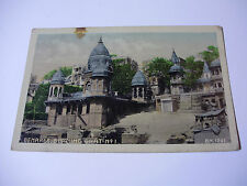 Lot205v - c1915 BENARES - BURNING GHAT No1 - INDIA POSTCARD
