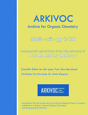 NEW Arkivoc 2003 VII Commemorative for Prof. M. Anthony Mckervey