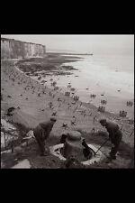 507067 Inspect Pillbox At Dieppe France 1944 Bell DND 134448 A4 Photo Print
