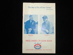 1966 All America Game College Football Media Guide EX+
