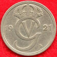 SWEDEN - 25 ORE - 1921