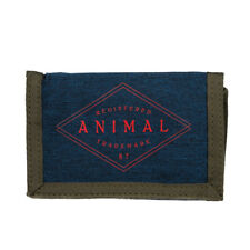 ANIMAL MENS WALLET.NEW MODIFY NAVY BLUE COIN CREDIT CARD MONEY NOTE PURSE 8W 5 T