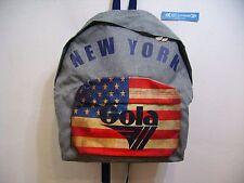 GOLA ZAINO SCUOLA HARLOW MELANGE NEW YORK CUB712 GREY MELANGE NAVY MULTI GRIGIO