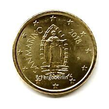 50 Cent Kursmünze San Marino 2018 Motiv Heiliger Marinus