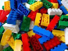 """Lot of 200 """"LEGO COMPATIBLE"""" 2 x 4 Building Blocks Bricks Assorted Colors"""
