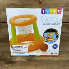 Intex Inflatable Floating Hoops Basketball Game - FAST FREE SHIPPING NEW