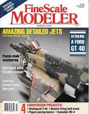 Fine Scale Modeler Mar93 Le Rhone Engine Canadaair Luftwaffe F-4F Phantom Heller