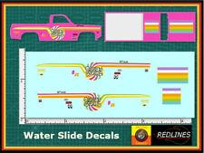 1/64 '83 Chevy Silverado Candy Swirl' CUSTOM Decal SCR-0093
