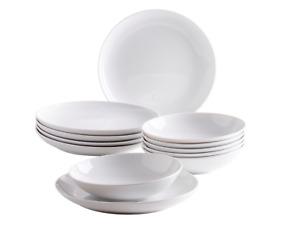 Kahla FIVE SENSES Tafelservice 12 Tlg. Tellerset Speiseteller Suppenteller NEU