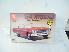 AMT 1/25 1964 Chevy Impala Super Sport 2 in 1 Build Stock / Custom NEW UNBILT