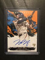 2021 TOPPS INCEPTION JOEY BART ON CARD AUTO RC Rookie /50 GIANTS