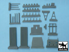 Black Dog T48027 1/48 Jeep with Rocket Launcher Conversion Set for Tamiya #32552