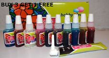 Buy 3 Get 1 FREE: 10x10ml Glass Paints & 1 Outliner tube Glass Painting Kit.