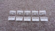 CITROËN alféizar de la falda recortar clips laterales interior/exterior Sujetadores 10PCS