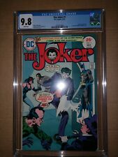 The Joker #1 CGC 9.8.  White Pages.  Only 100 Approx Know To Exist.