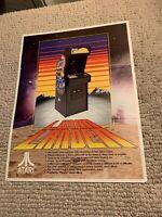 Original Atari Lunar Lander ARCADE VIDEO GAME  FLYER