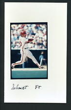 Mike Schmidt Press Original COLOR Photo 5 x 8 Philadelphia Phillies action swing
