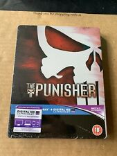 The Punisher (2004) Blu Ray Steelbook Zavvi UK Exclusive New & Sealed Marvel OOP