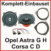 Lautsprecher Set Opel Astra G H Corsa C D Hertz DCX 130.3 2 Wege System hinten