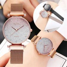 Fashion Women Sky Watch Magnet Band Ladies Quartz Diamond Wristwatch Watches