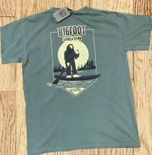 Bigfoot Search Gear T-Shirt Paddle Board Surf Beach Outdoor New Comfort Colors