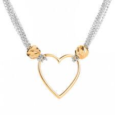 Love Heart Shape Pendant Necklace Wedding Jewelry Valentine's Day Romantic Gift