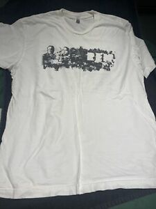 "2008 R.E.M. ""Accelerate"" Concert Tour XL T-Shirt MICHAEL STIPE Used"