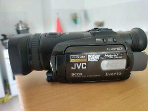 Caméscope + Micro JVC Everio GZ-HD7E En bon Etat - avec sacoche